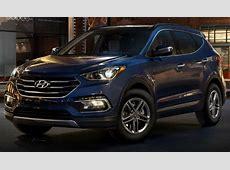 2017 Hyundai Santa Fe Sport color options