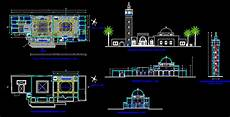 Turkish Mosque Dwg Block For Autocad Designs Cad