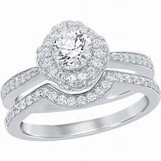 disney enchanted 14k white gold 7 8 ctw diamond and amethyst ariel bridal bridal sets
