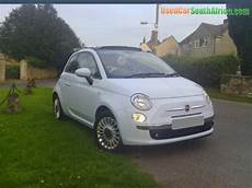 2009 fiat 500 500 1 2 lounge convertible used car for sale