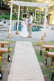 ceremony aisle decor simply elegant wedding planning