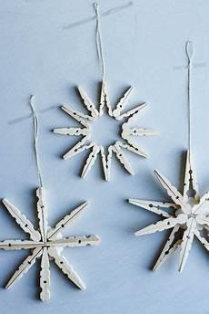 Wäscheklammern Basteln Weihnachten - weihnachtssterne aus holzklammern anleitungen