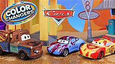 disney cars color changer mater bad paint to lightning mcqueen at ramone s house of art