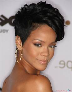 rihanna short curly hairstyles hairstyles 2019 new