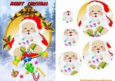 santa s cracker cup350155 688 craftsuprint