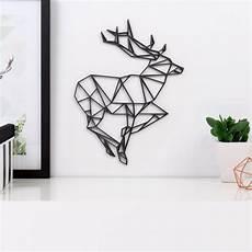 Origami 3d Motiv Hirsch