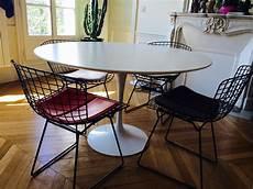 table ovale saarinen 233 dition knoll l atelier 50
