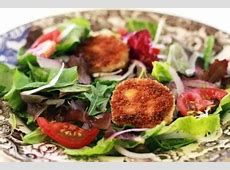goat cheese medallions_image