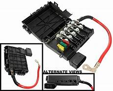 2001 jetta battery fuse box apdty 035792 fuse box assembly battery mounted with new fuses fusible fuse links fits 1998