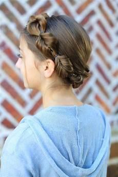 how to create a faux fishtail crown braid cute girls hairstyles