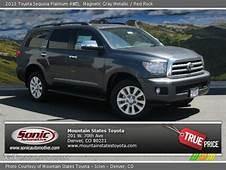 Magnetic Gray Metallic  2013 Toyota Sequoia Platinum 4WD