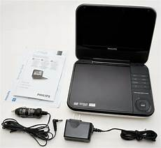 dvd player auto philips pd700 37 7 quot white portable dvd player car