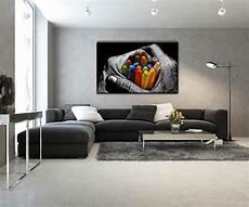 tableaux modernes pour salon tableau design crayons de couleur artwall and co
