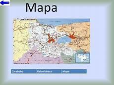 ubicacion de los simbolos naturales del estado carabobo carabobo