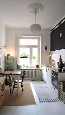 küche vintage look gardinen wohnzimmer altbau wohnen und einrichten im