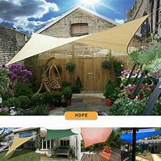 garten sonnensegel patio garden sun shade sail canopy awning sunscreen 98 uv