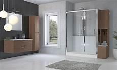 box doccia al posto della vasca da vasca a doccia completa di installazione con mobile di