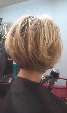 Bob Frisuren Hinteransicht - layered bob hairstyles back view tapered bob with