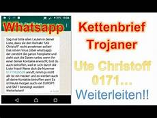 Whatsapp Ute Lehr - whatsapp ute christoff lehr kettenbrief achtung trojaner