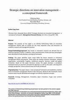 Cing De Brem - pdf horn brem strategic directions on innovation