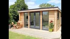 room and garden modern garden room built in dorset by garden lodges