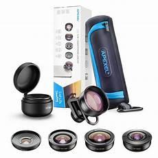 Apexel Universal Macro Lens by Apexel Universal Clip Hd 5 In 1 Lens Kit Wide