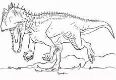 Ausmalbilder Dinosaurier Indominus Rex Indominus Rex Coloring Page With Images Dinosaur