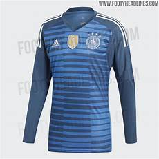germany 2018 world cup goalkeeper kit released footy