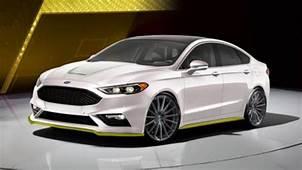 2017 Ford Fusion Sport Ballistic Concept By Webasto Thermo