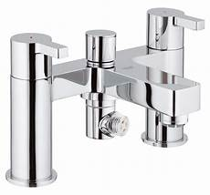 grohe lineare half inch deck mounted bath shower mixer tap