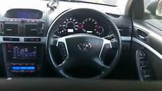 toyota avensis t25 modified interior