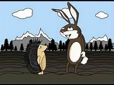 Hase Und Igel Malvorlagen Der Igel Und Der Hase