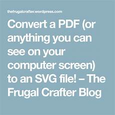 convert a pdf or anything you can see your computer