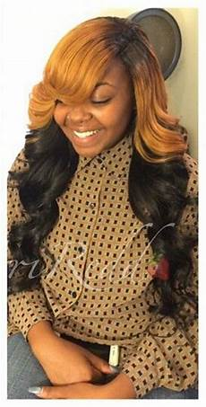 Two Tone Sew In Hairstyles