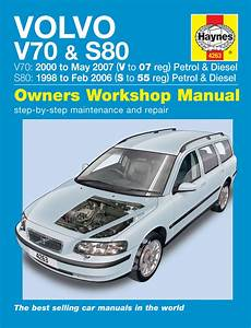 hayes auto repair manual 2001 volvo s80 engine control haynes manual 4263 volvo v70 s80 petrol diesel 98 to 07