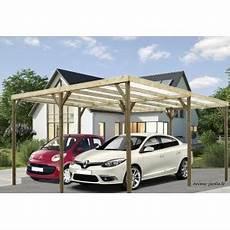abri voiture pas cher carport bois autoclave abri pour 2 voitures pas cher