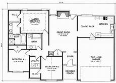 1700 square foot house plans 1700 square foot rambler house plans