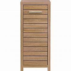 Bathroom Floor Cabinet Homebase by Skydale Single Door Floor Cabinet Slatted Wood Grain