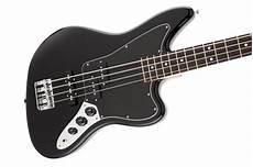 fender jaguar bass black fender standard jaguar bass black rosewood