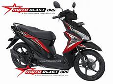 Modifikasi Honda Vario 110 by Modif Striping Honda Vario 110 Fi 2014 Motoblast