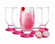 set di bicchieri 6 bicchieri 270ml bicchieri di succo set bicchieri