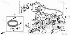 honda outboard parts by hp serial range 40hp oem parts diagram for wire harness boats net