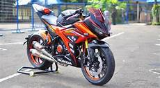 Modifikasi Motor Cbr 150 by Modifikasi All New Cbr 150r Facelift 2016 Terbaru