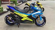 Modifikasi Yamaha Aerox by Aksesoris Modifikasi Yamaha Aerox 155 2017