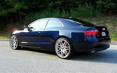 audi a5 20 zoll audi a5 with 20 inch brushed titanium forgestar f14