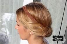 Einfache Frisuren Mit Haarband - brautfrisuren lange haare mit pony
