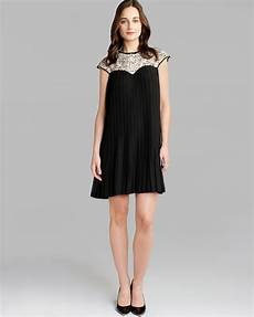 ted baker dress wastila lace pleated in black lyst