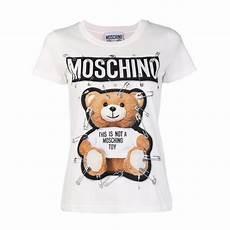 moschino teddy pin printed shirt size 8 m tradesy