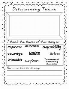 poetry theme worksheets 25363 miss stith s second grade determining theme in literature freebie school stuff reading