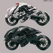 CRASSETINATION Futurocycles 03  Futuristic Motorcycle